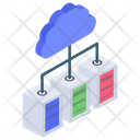 Cloud Hosting Cloud Computing Network Hosting Icon