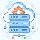 Distribution Database Cloud Sharing Dataserver Network Icon