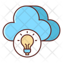 Cloud Hosting Cloud Cloud Architecture Icon