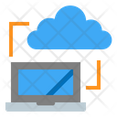 Hosting Server Cloud Icon