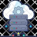 Cloud Hosting Cloud Technology Cloud Server Icon