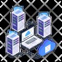 Cloud Servicers Cloud Technology Cloud Network Icon