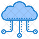 Cloud Hosting Hosting Network Icon