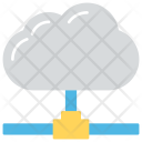 Cloud Hosting Service Icon