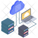 Cloud Hosting Services Icon