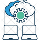 Cloud Hosting Settings Cloud Settings Cloud Preferences Icon