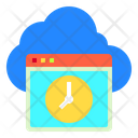 Hosting Cloud Web Icon