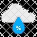 Cloud Humidity Icon