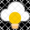Cloud Idea Online Idea Creative Idea Icon