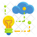 Cloud Idea Cloud Blub Cloud Icon