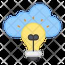 Cloud Idea Cloud Creative Cloud Innovation Icon