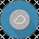 Cloud In Circle Icon