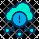 Information Cloud Details Online Storage Icon