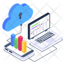 Cloud Data Analytics Cloud Infographics Cloud Data Icon