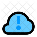 Cloud Info Cloud Network Icon