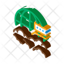 Cloud Science Education Icon
