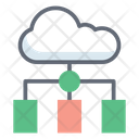 Cloud Infrastructure Icon