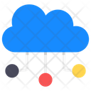Cloud Infrastructure Cloud Network Cloud Computing Icon