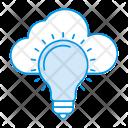 Cloud Innovation Idea Icon