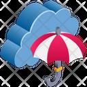 Cloud Insurance Icon