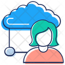 Cloud Interface Icon