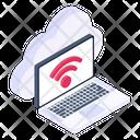 Cloud Network Wireless Network Broadband Network Icon