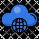 Cloud Internet Global Gloud Globe Icon
