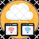 Cloud Internet Connection Icon