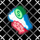 Brain Business Finance Icon