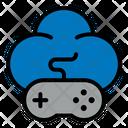 Game Joystick Cloud Icon