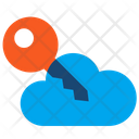 Key Cloud Protection Icon