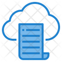 Cloud Knowledge Icon