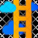 Cloud Ladder Icon