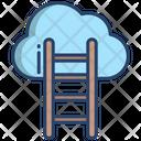 Cloud Ladder Ladder Stair Icon