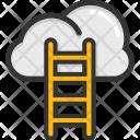 Cloud Ladder Development Icon