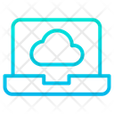 Cloud  Laptop Icon