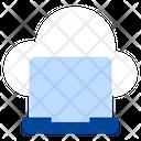 Cloud Laptop Cloud Computing Cloud Icon