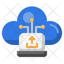 Cloud Laptop Upload Laptop Upload Laptop Icon
