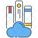 Cloud Library Book Books Icon