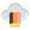 Cloud Library Digital Library Book Icon