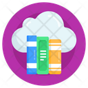 Internet Library Cloud Library Cloud Books Icon
