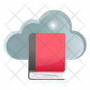 Cloud Study Cloud Book Cloud Library Icon