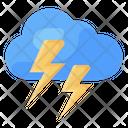 Thunderstorm Cloud Lighting Cloud Flash Icon