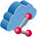 Link Network Sharing Icon