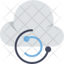 Cloud Computing Cloud Refresh Icon