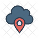 Location Cloud Map Icon