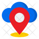 Cloud Location Location Management Icon