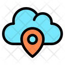 Cloud Location Icon