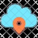 Cloud Location Location Cloud Icon