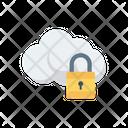 Private Lock Cloud Icon